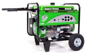 Lifan ES80000E Watt 15 HP Portable Generator Electric Start (Battery Not Included)
